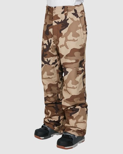 1 Tuck Knee Pants Camo U6PM23S Billabong