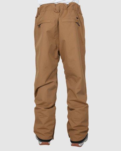 2 Tuck Knee Pants Brown U6PM23S Billabong