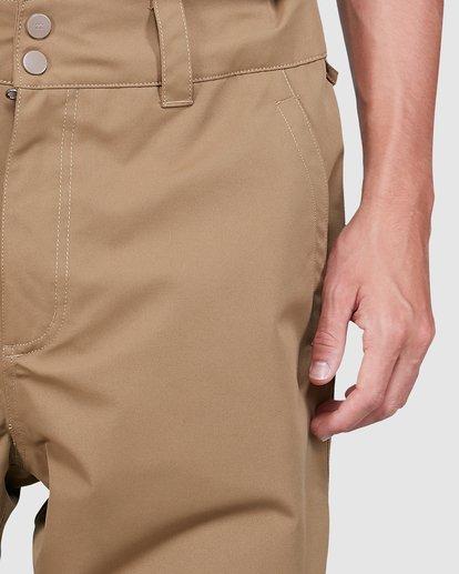 3 Tuck Knee Pants Brown U6PM23S Billabong