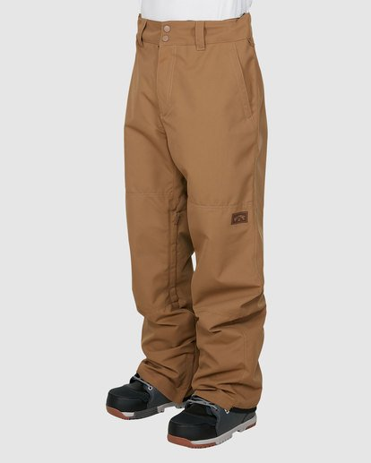 1 Tuck Knee Pants Brown U6PM23S Billabong