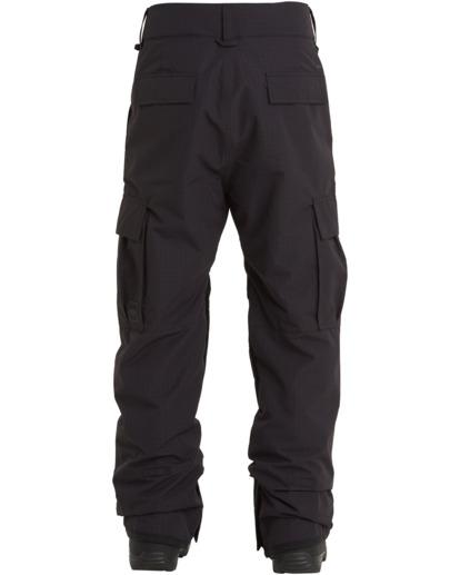 1 Transport - Pantalones para nieve para Hombre Negro U6PM24BIF0 Billabong
