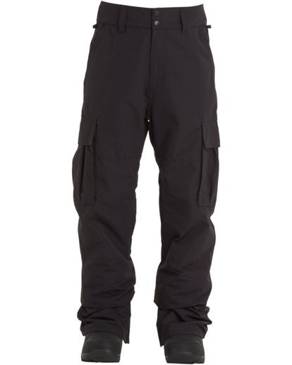 0 Transport - Pantalones para nieve para Hombre Negro U6PM24BIF0 Billabong