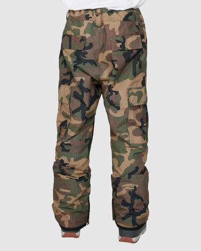 2 Transport Pants Camo U6PM24S Billabong