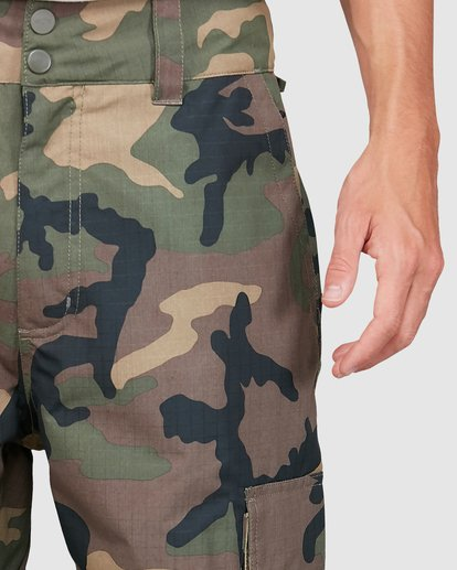 3 Transport Pants Camo U6PM24S Billabong