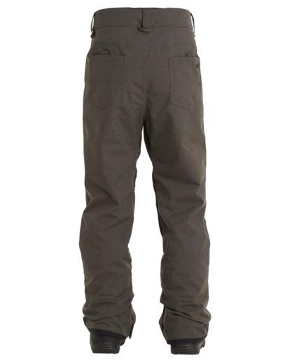 7 Outsider - Snow Pants for Men Grey U6PM25BIF0 Billabong