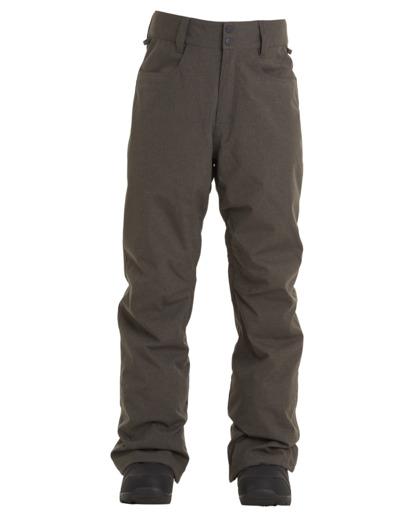 6 Outsider - Snow Pants for Men Grey U6PM25BIF0 Billabong