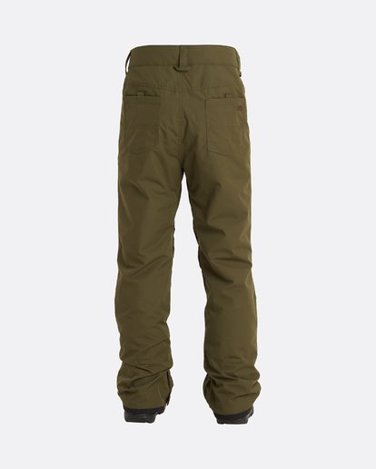 3 Outsider - Snow Pants for Men Green U6PM25BIF0 Billabong