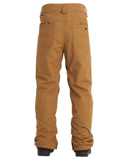 4 Outsider - Pantalones para nieve para Hombre Marron U6PM25BIF0 Billabong