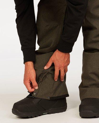 5 Outsider - Snow Pants for Men Grey U6PM25BIF0 Billabong
