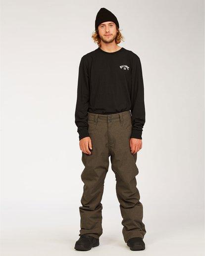 0 Outsider - Snow Pants for Men Grey U6PM25BIF0 Billabong