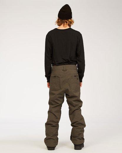 2 Outsider - Snow Pants for Men Grey U6PM25BIF0 Billabong