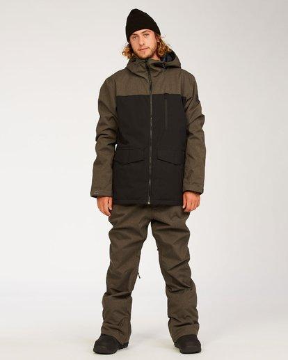 3 Outsider - Snow Pants for Men Grey U6PM25BIF0 Billabong