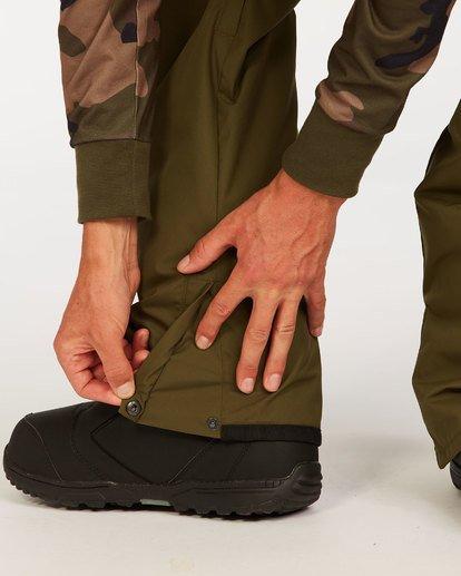 2 Outsider - Pantalones para nieve para Hombre Verde U6PM25BIF0 Billabong