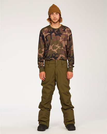 0 Outsider - Snow Pants for Men Green U6PM25BIF0 Billabong