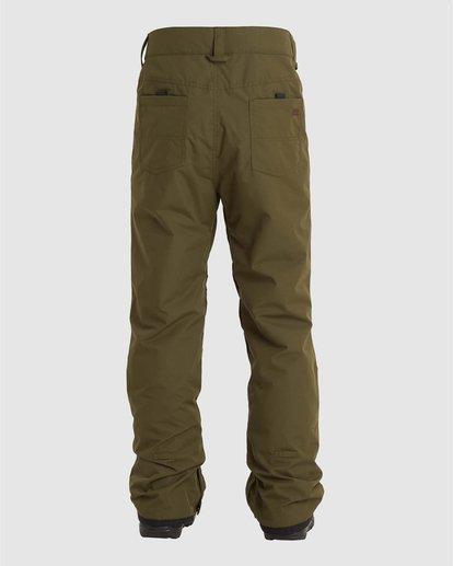 3 Outsider Pants Green U6PM25S Billabong