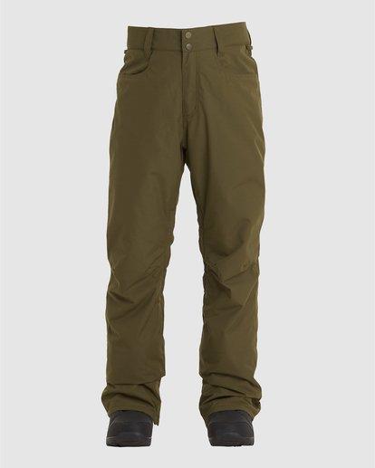 2 Outsider Pants Green U6PM25S Billabong