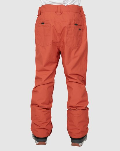 2 Outsider Pants Orange U6PM25S Billabong