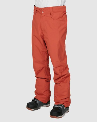 1 Outsider Pants Orange U6PM25S Billabong