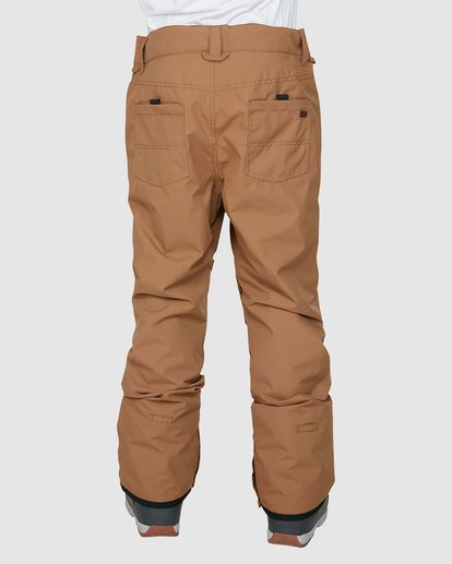 2 Outsider Pants Brown U6PM25S Billabong