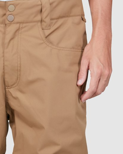 3 Outsider Pants Brown U6PM25S Billabong