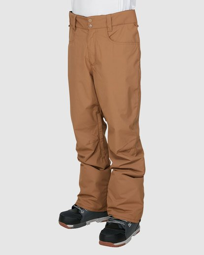 1 Outsider Pants Brown U6PM25S Billabong