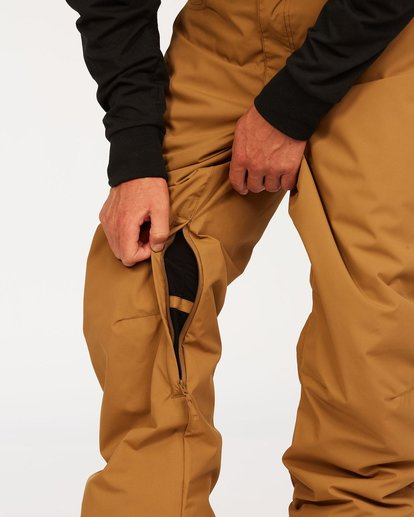 6 Outsider Pants Brown U6PM25S Billabong