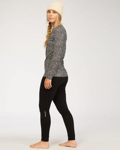 2 Warm Up - Leggin primera capa para Mujer Negro U6SF21BIF0 Billabong