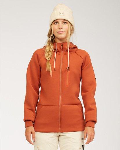 0 Adventure Division Collection Freezing Fog - Camiseta interior para Mujer  U6SF24BIF0 Billabong