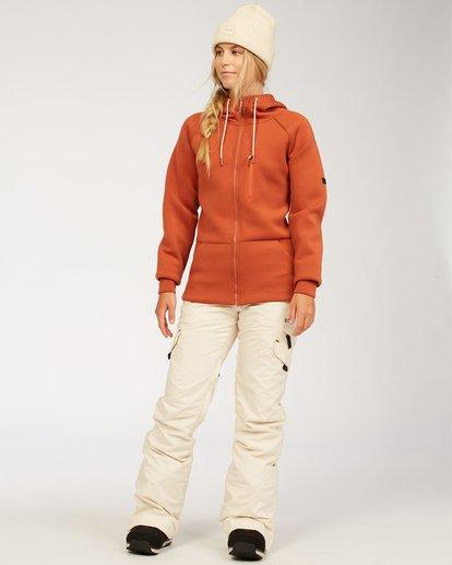 1 Adventure Division Collection Freezing Fog - Camiseta interior para Mujer  U6SF24BIF0 Billabong
