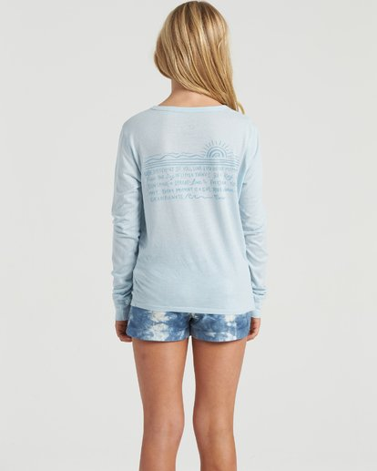 1 Show Gratitude - Long Sleeve Shirt for Girls  U8LS03BIF0 Billabong