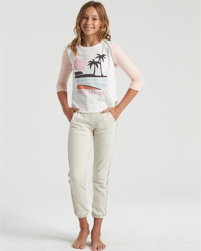 0 Stripes Today- Joggers for Girls Gris U8PV01BIF0 Billabong