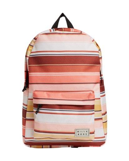 3 Next Time - Backpack for Women Brown U9BP02BIF0 Billabong
