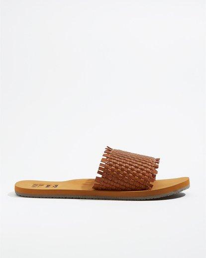 4 Salty Blonde Sunrise Breeze - Zapatos para Mujer Beige U9FF01BIF0 Billabong