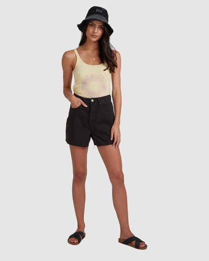6 Riley Cut-Off Denim Shorts Black UBJDS00103 Billabong