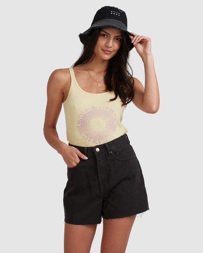 4 Riley Cut-Off Denim Shorts Black UBJDS00103 Billabong