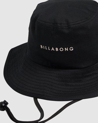 3 Jah Wide Brim Hat Black UBJHA00124 Billabong