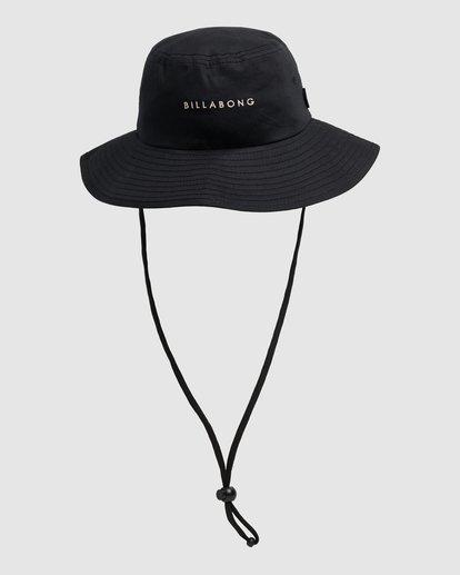 1 Jah Wide Brim Hat Black UBJHA00124 Billabong