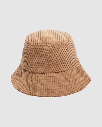 2 Field Trip Bucket Hat Brown UBJHA00151 Billabong