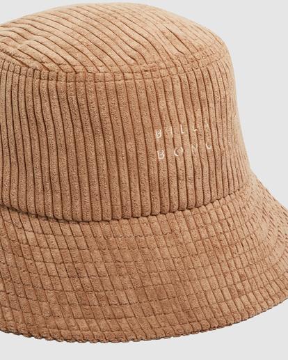 3 Field Trip Bucket Hat Brown UBJHA00151 Billabong