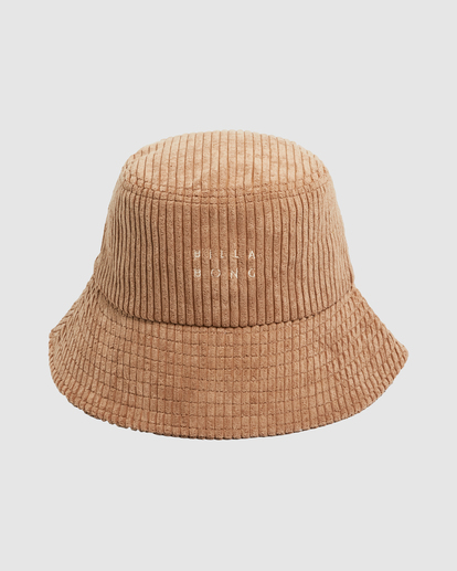 1 Field Trip Bucket Hat Brown UBJHA00151 Billabong