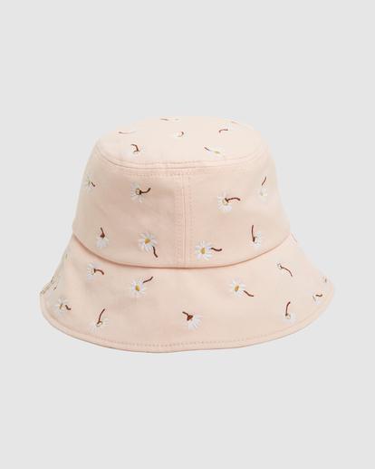 3 Feelin Peachy Bucket Hat Orange UBJHA00153 Billabong