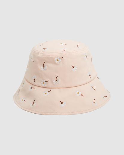 2 Feelin Peachy Bucket Hat Orange UBJHA00153 Billabong