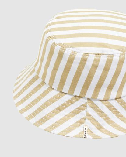 4 Babewave Bucket Hat White UBJHA00158 Billabong