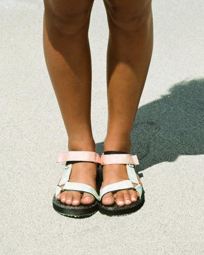 0 Hot Tropics Double Strap Sandals Grey UBJL200002 Billabong