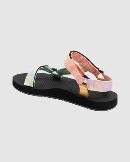 3 Hot Tropics Double Strap Sandals Grey UBJL200002 Billabong