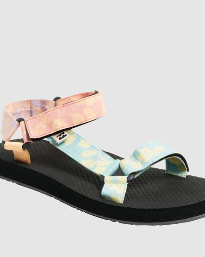 4 Hot Tropics Double Strap Sandals Grey UBJL200002 Billabong