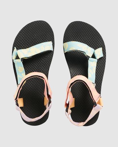 1 Hot Tropics Double Strap Sandals Grey UBJL200002 Billabong