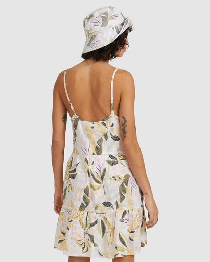 3 Sunset Blue Bell Dress White UBJWD00190 Billabong