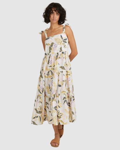 2 Sunset Seaspray Maxi Dress White UBJWD00192 Billabong