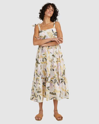 3 Sunset Seaspray Maxi Dress White UBJWD00192 Billabong